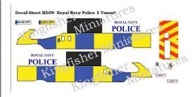 Royal Navy Police - Transit